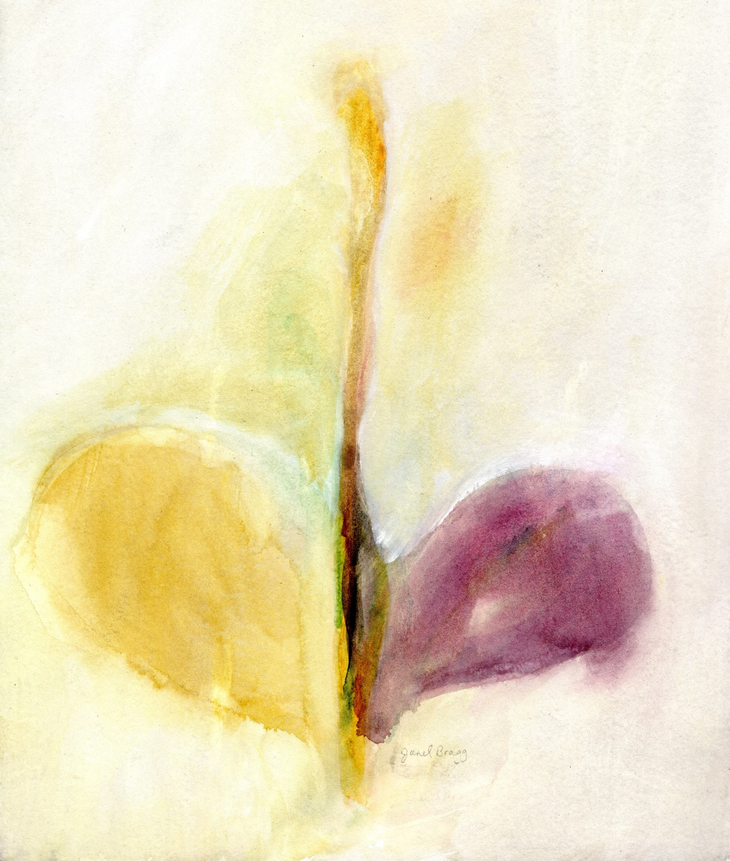 Janel Bragg - Abstract in Coming Back to Life