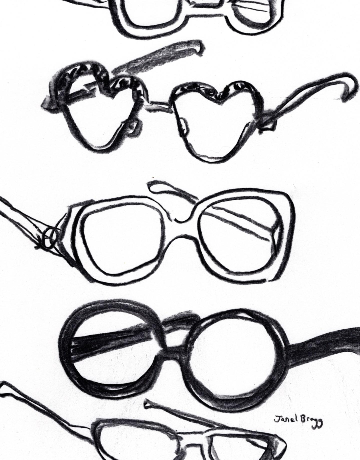 Janel Bragg - Sunglasses in Charcoal 1.5
