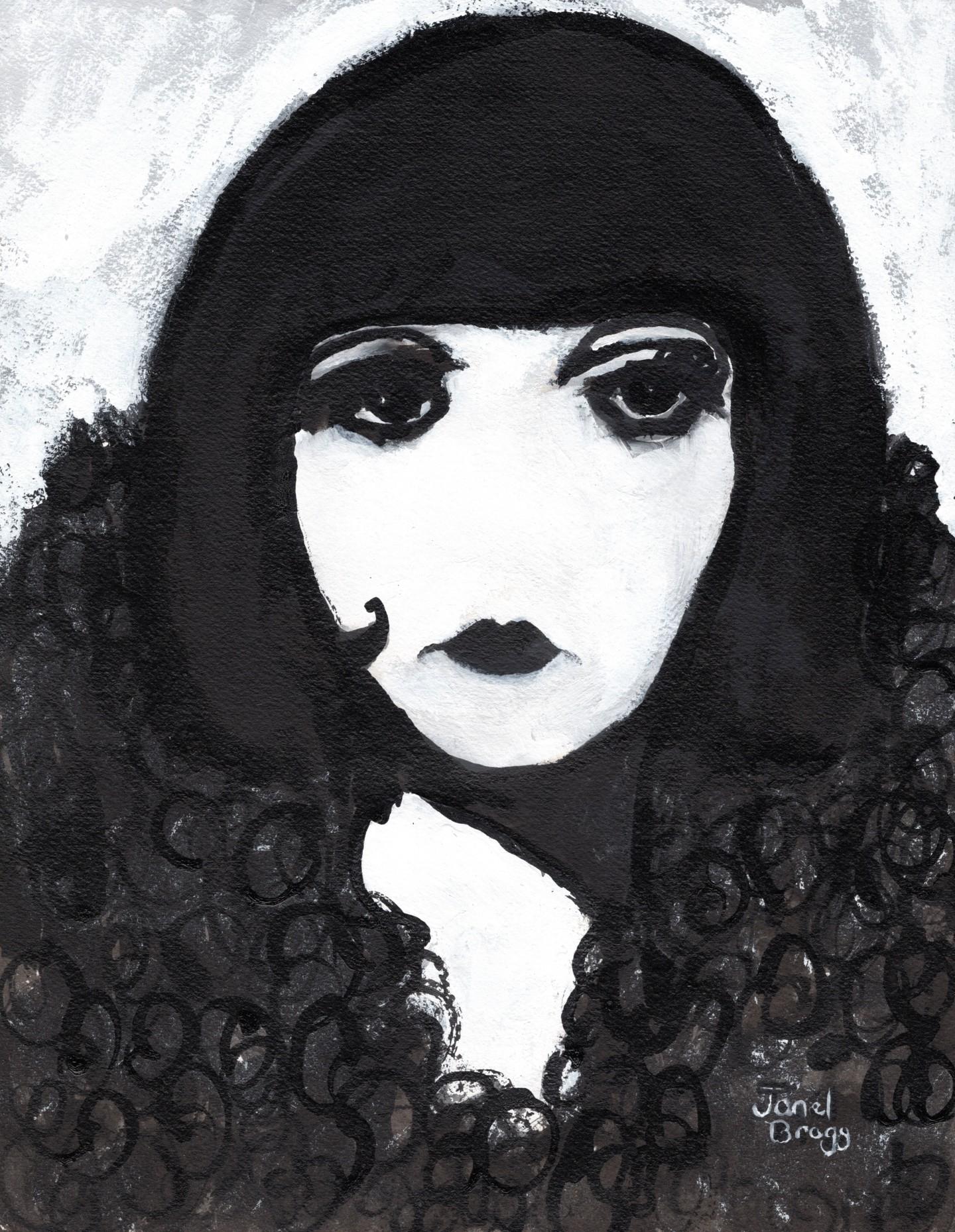 Janel Bragg - Siren in a Faux Fur Coat