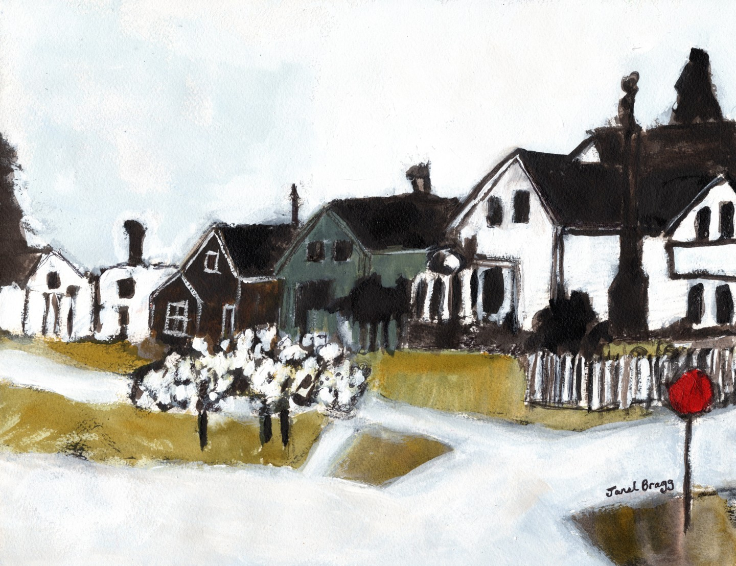 Janel Bragg - Houses on 7th Street