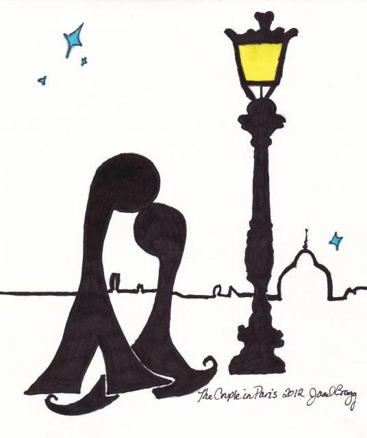 Janel Bragg - The Couple in Paris