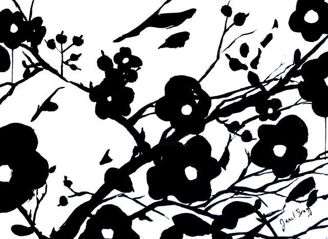 Janel Bragg - Wild Roses II