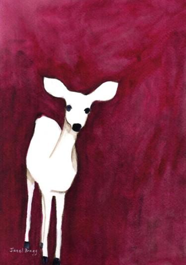 Deer on Cap Sante