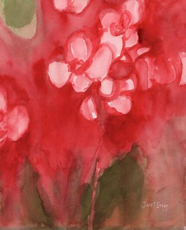 Orchid in Alizarin Crimson