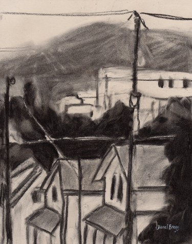 View from Cap Sante in Charcoal