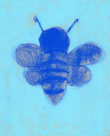 Bumble Bee in Blue