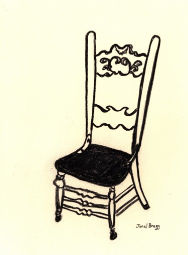 Antique Chair at the Palace Hotel 2