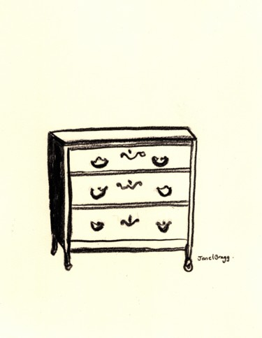 Antique Dresser at the Palace Hotel