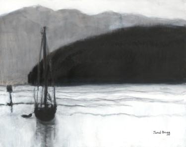 Sailboat in Anacortes Harbor
