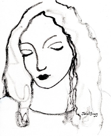 Woman with Sumi Ink