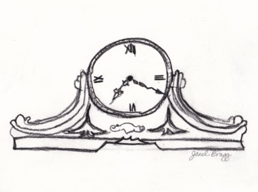 Janel's Antique Clock