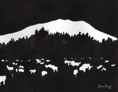 Double O Ranch in Ink