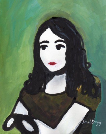Self Portrait as a Young Woman