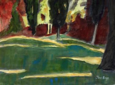 Storvic Park at Dusk