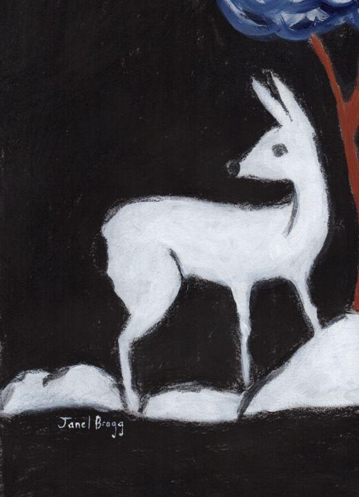 Janel Bragg - Deer from Washington Park