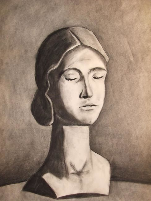 Janel Bragg - female head