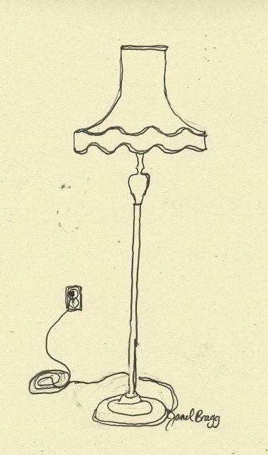 Janel Bragg - Janel's Floor Lamp
