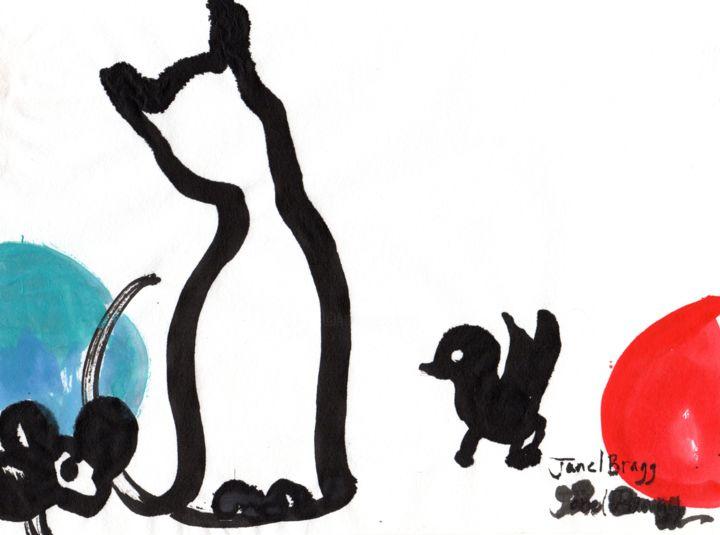 Janel Bragg - Cat Mouse Bird