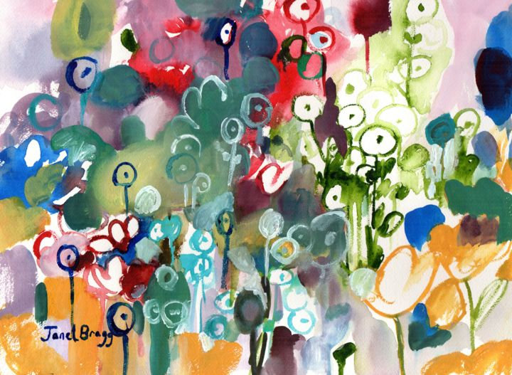 Janel Bragg - Flower Garden
